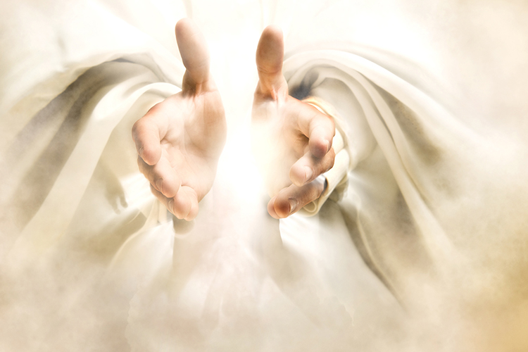 Adonai: Hands reaching