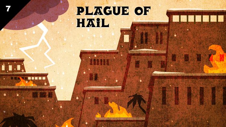 plagues hail